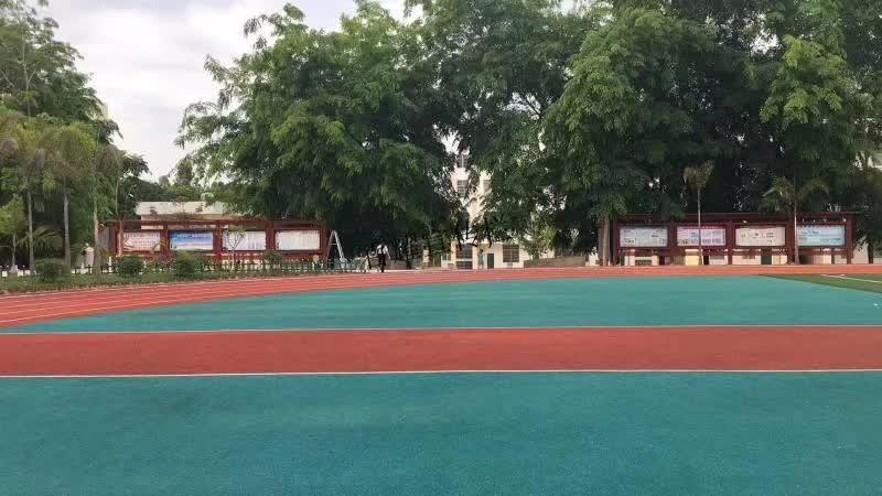 百耀定制案例:海南省儋州市一校园宣传栏