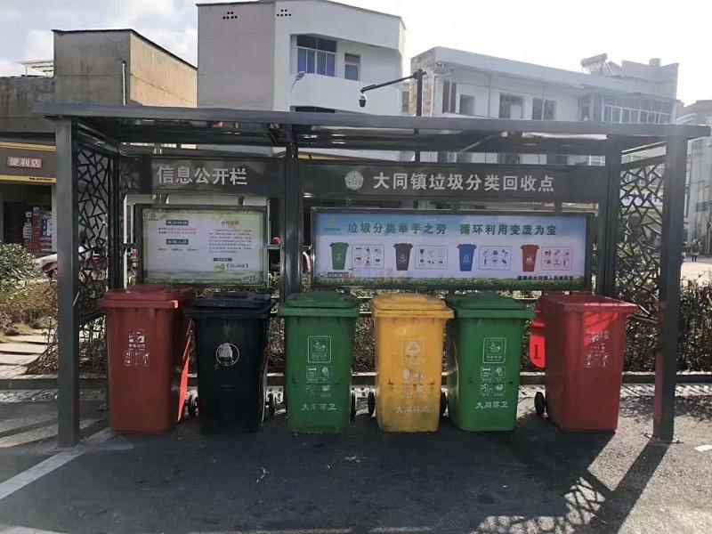 垃圾分类投放亭