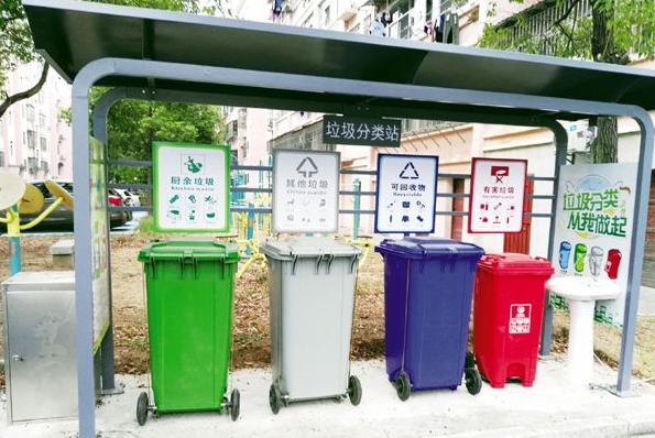 垃圾分类亭