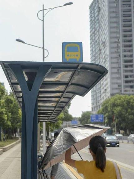 长沙公交候车亭