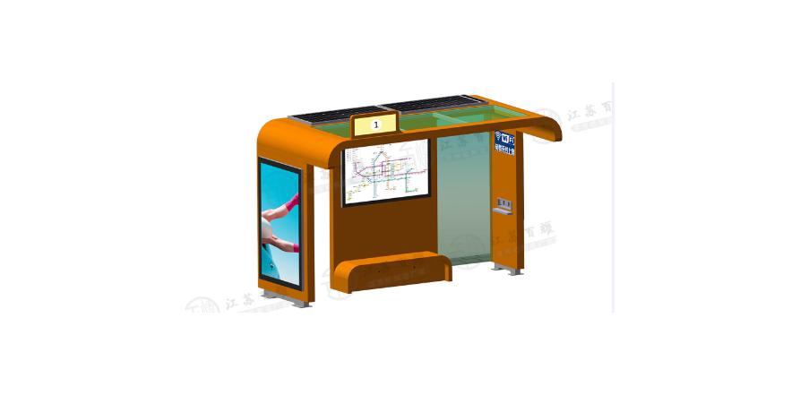 现代公交候车亭HCT-14